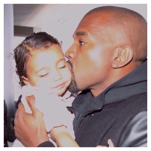 Kanye and North 2