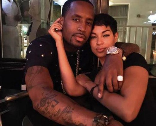 Safaree and New Girlfriend
