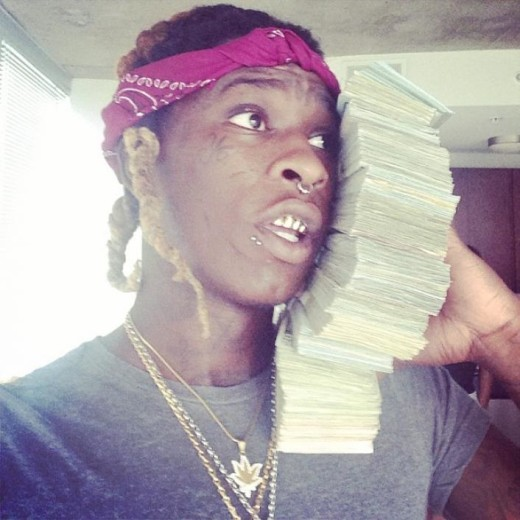 Young thug money phone