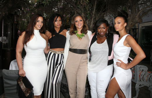 a_Dascha Polanco (Orange is the New Black), singer Cassie Ventura, Maddie Mey, CIROC Exec Erin Harris, and Draya Michelle