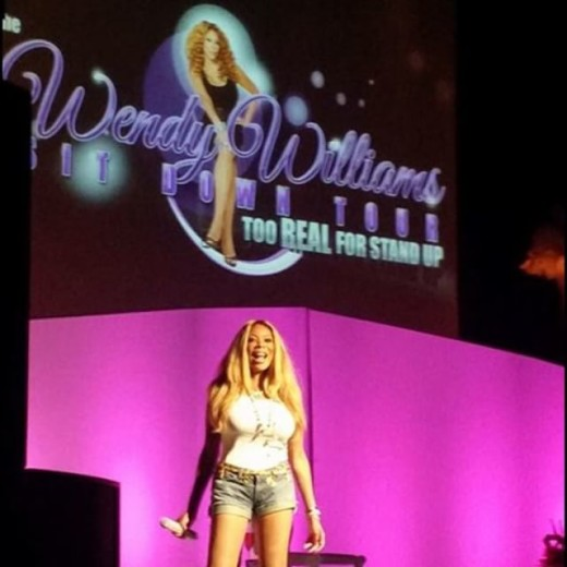 Wendy Williams Sit Down Tour Fall 1
