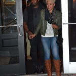 Michael Jai White & His Wife Spotted At T.I.'s Restaurant Scales 925