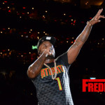 Photos: Jeezy Performs Half time at the Hawks vs Oklahoma City Thunder game in Atlanta, GA