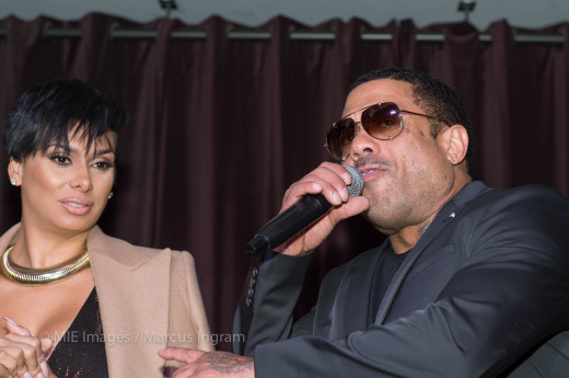 Benzino remarks on stage