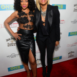 "Letoya Luckett & Wendy Raquel Robinson Laugh It Up While Showing ""Here We Go Again"""