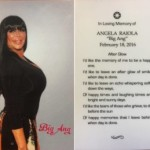 The Cast of Mob Wives, Family, Friends & Fans Pay Their Respects to The Life of Big Ang