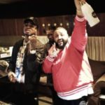 DJ Khaled In The Studio With Chance The Rapper, Mariah Carey, Migos, And Travis Scott