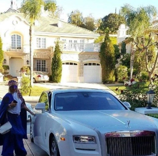 reportedly master p s girlfriend bought him a rolls royce