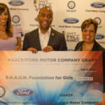 "Ford Donates $10,000 to Shaun Robinson's S.H.A.U.N. Foundation for Girls at the ""13th Hollywood Bureau Symposium"" During 48th NAACP Image Awards Weekend"