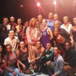 Beyonce Surprises Everyone Backstage At L.A Dance Show