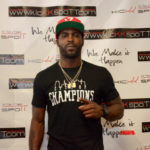 Mike Vick Host a Pop Up Shop Showcasing his new V7 Appearl
