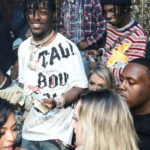 [Photos]  PlayBoi Carti Celebrates His Birthday At AOD Monday's With Lil' Uzi Vert And Justin Combs in Hollywood