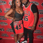 [Photos] Kandi Throws A Star-Studded 'Jordans and Jerseys' Themed Birthday Bash For Todd Tucker
