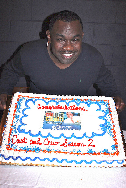 """Rodney Perry- Wrap Party Cake """"Off the Chain"""" on Bounce TV"""