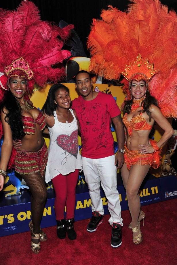 Ludacris-daughter
