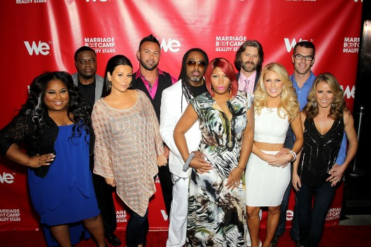 Cast of WE tv's Marriage Boot Camp Reality Stars