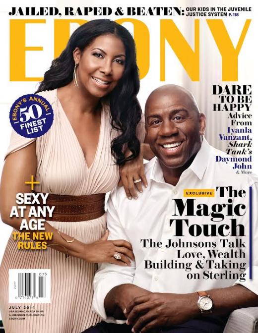 Magic-and-Cookie-Johnson-EBONY-Magazine
