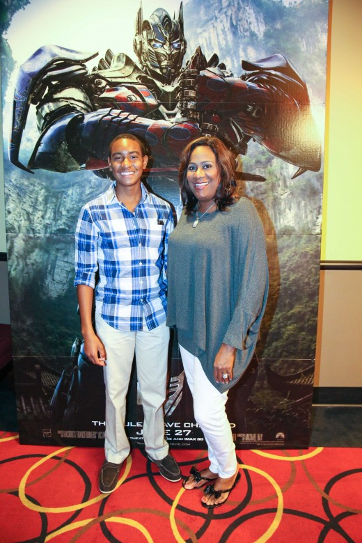 WXIA 11Alive anchor Karyn Greer with son - T4 ATL