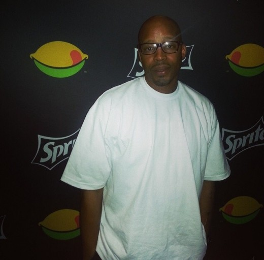 Rapper Warren G spotted backstage at the #BETMainstage!
