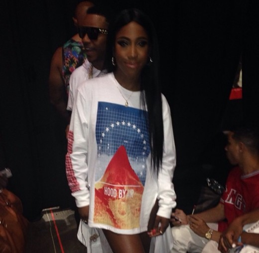 Sevyn Streeter getting ready to rock the #BETMainStage
