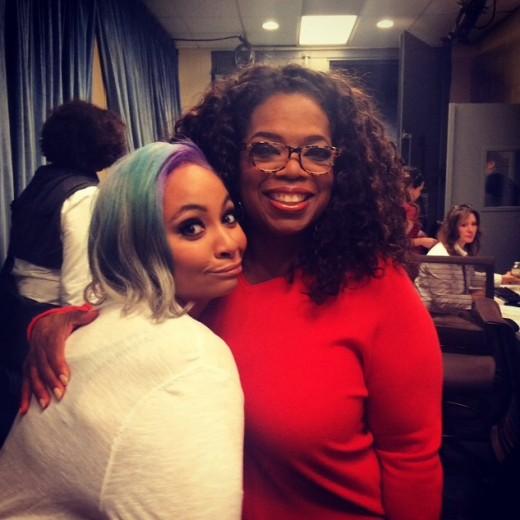 Raven-Symone & Oprah