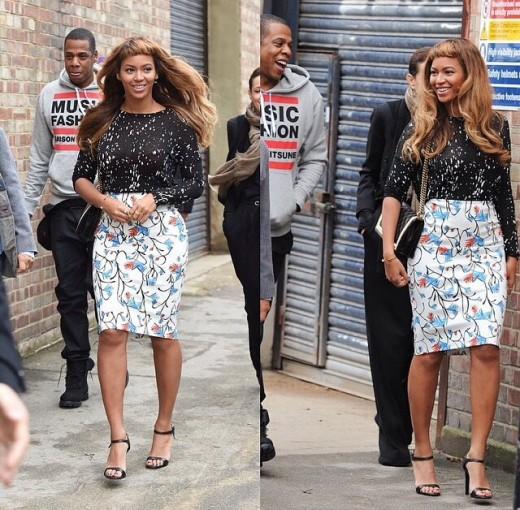 Beyoncé's new hairdo