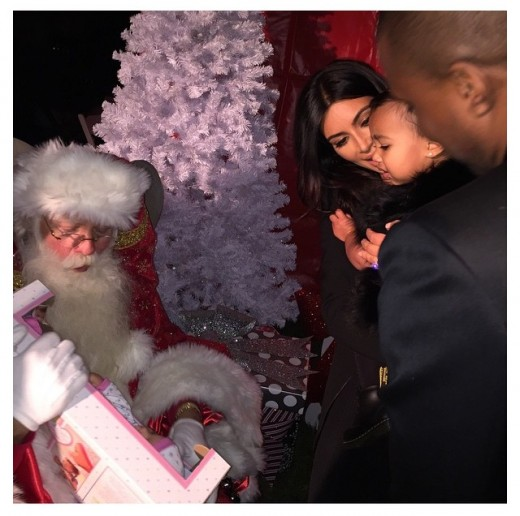 The Wests at a Christmas Party