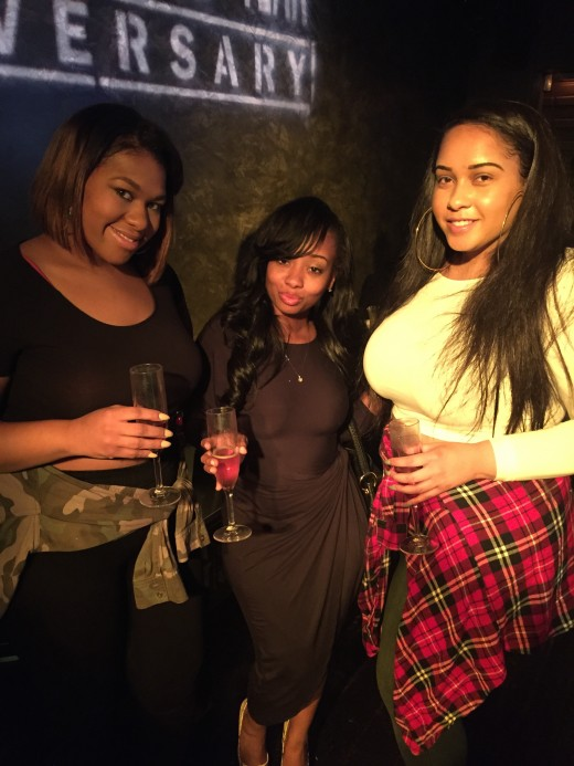 FROM L TO R: STREETZ 94.5 WINNER ASHLEY LITTLE, STACY J OWNER OF ELITE ENTERTAINMENT, & GUEST