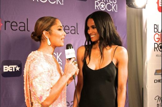 Ciara and Amanda Seales talk fashion, new music and tonight's performances
