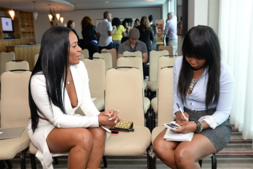 Maja interviews with Abesi from The Source