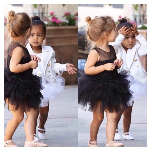 North West and Penelope Disick
