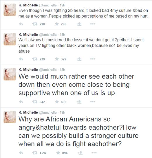 K Michelle Emo Tweets 1