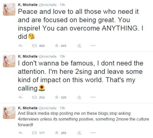 K Michelle Emo Tweets 4