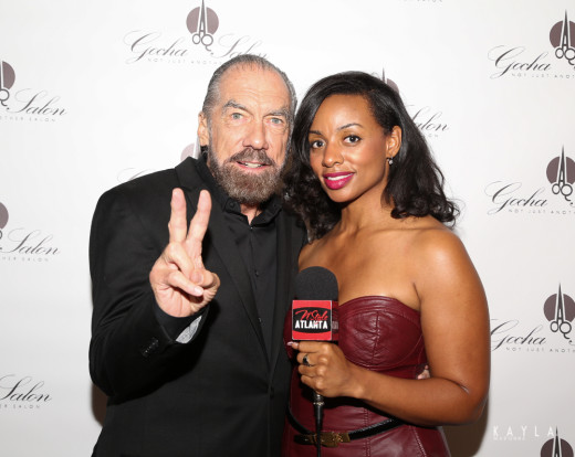 John Paul DeJoria - N'Style Atlanta host Shayla Raye