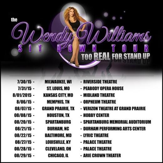 Wendy Williams Sit Down Tour Dates