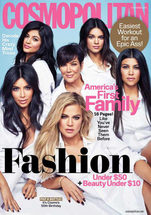 Cosmopolitan - November 2015 - Newsstand